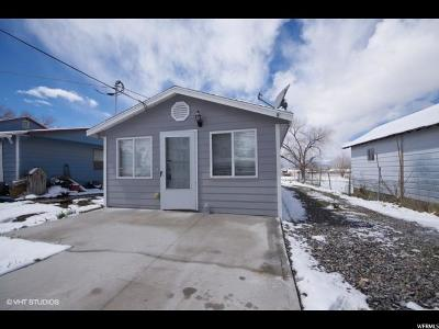 Tooele UT Single Family Home For Sale: $150,000