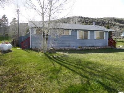 Scofield UT Single Family Home For Sale: $135,000