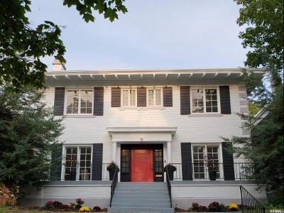 Salt Lake City Single Family Home For Sale: 26 N Wolcott St E