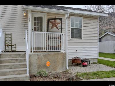 Brigham City Single Family Home For Sale: 438 N 100 E #7