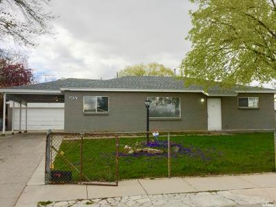 Salt Lake City Single Family Home For Sale: 4531 W 4955 S
