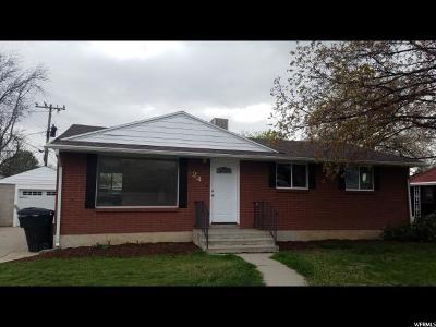 Orem Single Family Home For Sale: 224 E 300 N
