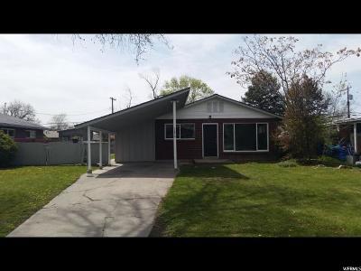 Salt Lake City Single Family Home For Sale: 1059 N Catherine St