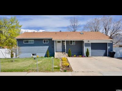 Orem Single Family Home For Sale: 1079 S 200 W