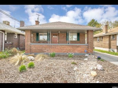 Salt Lake City Single Family Home For Sale: 21 W Grove Ave