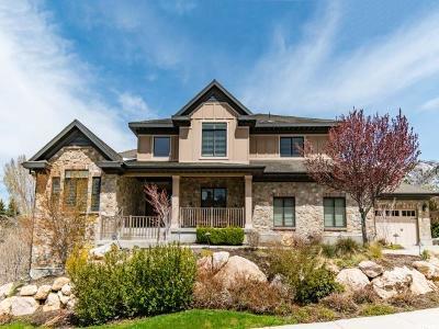 Sandy Single Family Home For Sale: 3091 E Hiddenwood Dr S