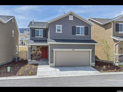 Saratoga Springs Single Family Home For Sale: 324 W Willow Creek Dr S