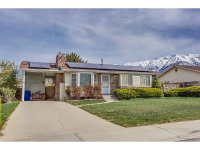 Orem Single Family Home For Sale: 1088 W 1100 N