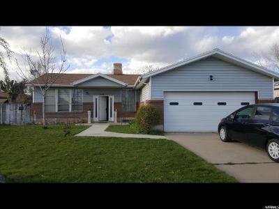 Layton UT Single Family Home For Sale: $195,000