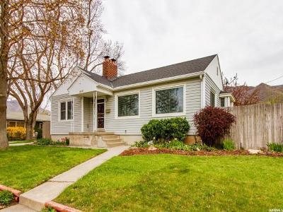 Salt Lake City UT Single Family Home For Sale: $445,000