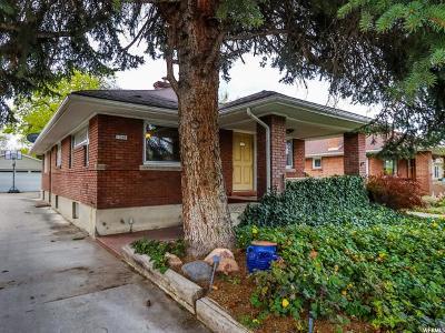 Salt Lake City Single Family Home For Sale: 1048 Ramona Ave E