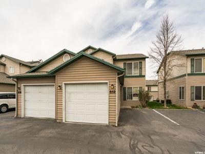 Ogden Townhouse For Sale: 852 E 760 N