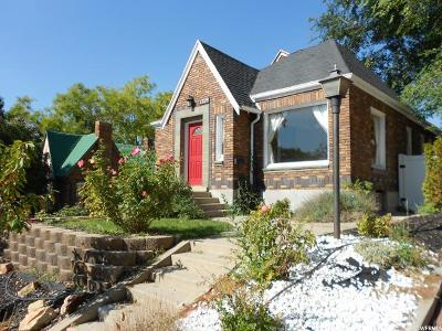 Salt Lake City Single Family Home For Sale: 1329 E 1700 S
