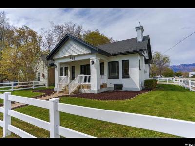 Ogden Single Family Home For Sale: 554 E 17th St S