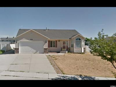 Salt Lake City Single Family Home For Sale: 6116 W Mill Valley Ln S