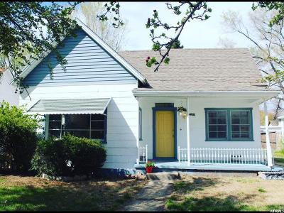 Ogden Single Family Home For Sale: 326 18th St