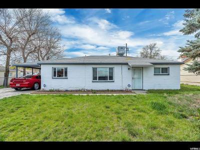 Salt Lake City Single Family Home For Sale: 4575 W 5135 S
