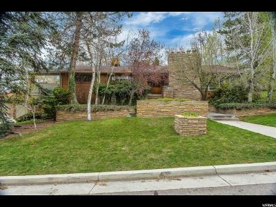 Salt Lake City Single Family Home For Sale: 1485 E Sigsbee Ave