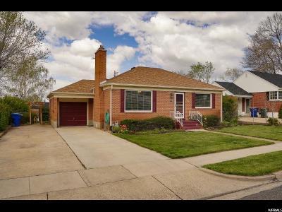 Ogden Single Family Home For Sale: 3055 S Tyler Ave