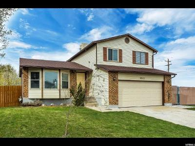 West Jordan Single Family Home For Sale: 3212 W 6610 S