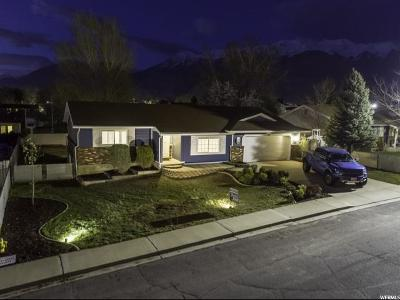 Orem Single Family Home For Sale: 1094 W 1340 N