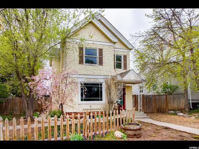 Salt Lake City Single Family Home For Sale: 855 E Sherman Ave