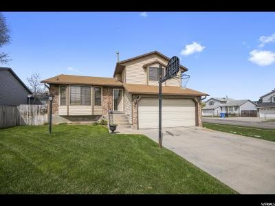Salt Lake City Single Family Home For Sale: 4784 S Aaron Way W