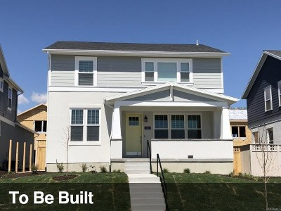 South Jordan Single Family Home For Sale: 11373 S Willow Walk Dr W #388