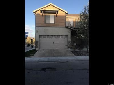 South Jordan Townhouse For Sale: 10413 Sage Vista Way