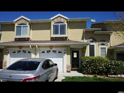 West Jordan Townhouse For Sale: 4732 W Italian St