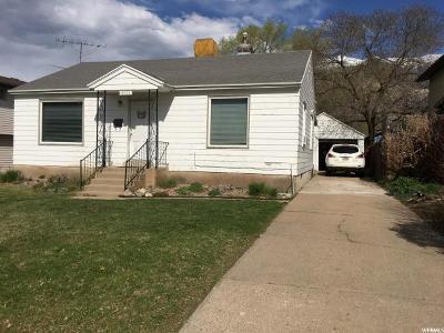 Ogden UT Single Family Home For Sale: $156,000