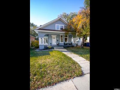 Salt Lake City Single Family Home For Sale: 852 Green St S