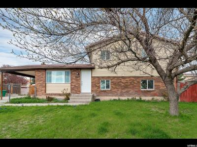 West Jordan Single Family Home For Sale: 6464 S Cougar Ln W