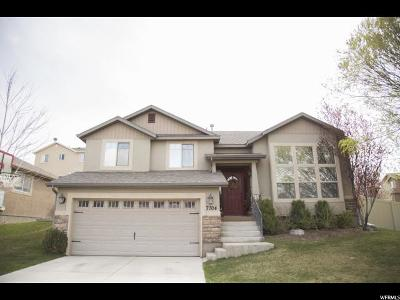 Eagle Mountain Single Family Home For Sale: 7704 N Meadow Creek Dr