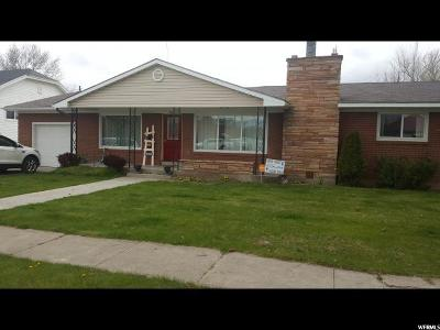 Preston Single Family Home For Sale: 327 N N. State St. S