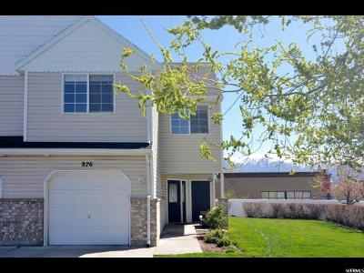 Layton UT Townhouse For Sale: $210,000