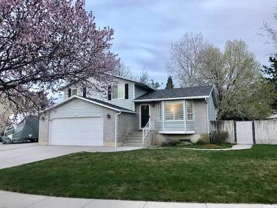 Sandy Single Family Home For Sale: 10805 S Bohm Pl E