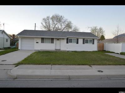 Provo UT Single Family Home For Sale: $194,000