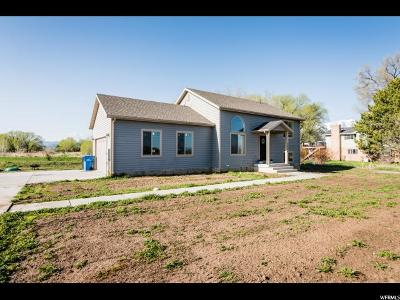 Nibley Single Family Home For Sale: 1644 W 3200 S