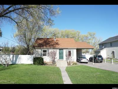 Mapleton Single Family Home For Sale: 1757 N 1600 W