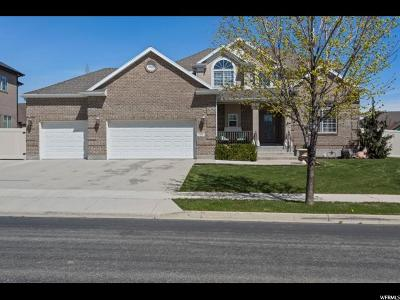 South Jordan Single Family Home For Sale: 3282 W Canyon Meadow Dr