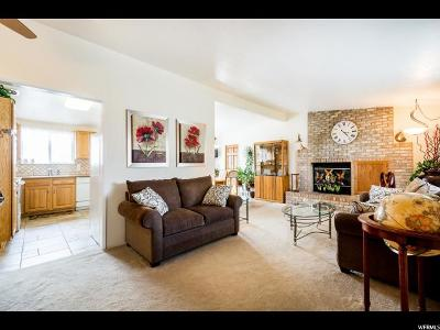 Taylorsville Single Family Home For Sale: 5009 S Plymouth View Dr W