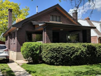 Salt Lake City UT Single Family Home For Sale: $359,900