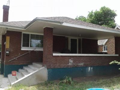 Ogden Single Family Home For Sale: 435 E 31st St S
