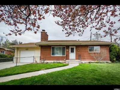 Salt Lake County Single Family Home For Sale: 1602 W 4908 S