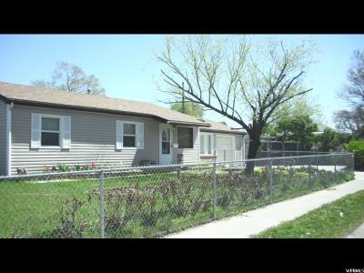 Salt Lake County Single Family Home For Sale: 5711 S 4270 W