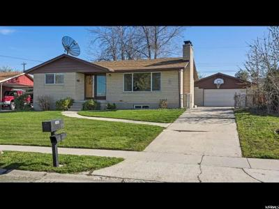 Salt Lake County Single Family Home For Sale: 4879 W Janette S