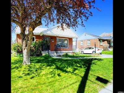 Salt Lake City UT Single Family Home For Sale: $385,000