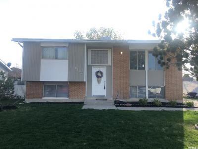 West Jordan Single Family Home For Sale: 8700 S 3680 W