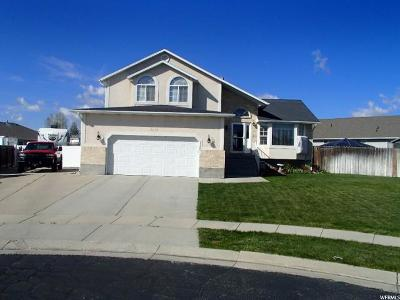West Jordan Single Family Home For Sale: 4529 W Bingham View Cir S